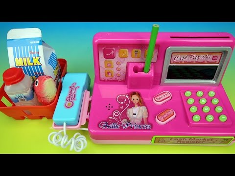 Toy Cash Register with Lights and Sound Playset