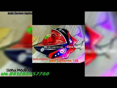 Dada Jupiter mx new 135 custom lampu u7 Transformers eagle eye