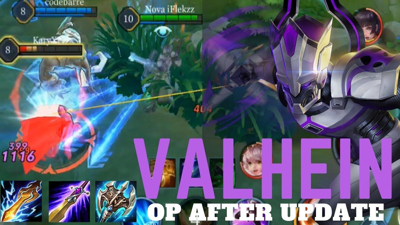 Valhein Op After Update Asian Build Legendary Skin Arena Of Valor Aov