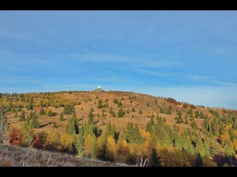 Kojšovská hoľa 1246 m n.m. a chata Erika