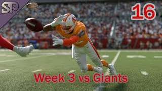Madden 20 Tampa Bay Buccaneers Franchise  - Week 3 vs Giants