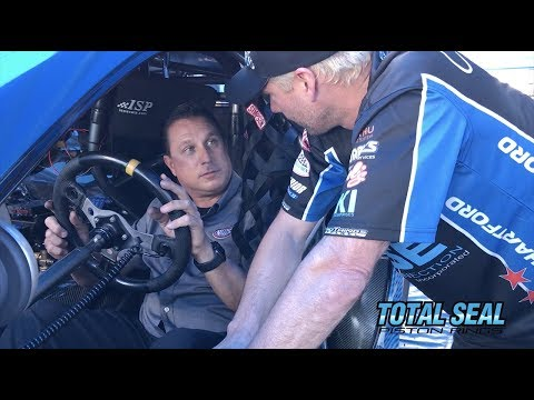 Time to warmup a Pro Stock Car with Matt Hartford