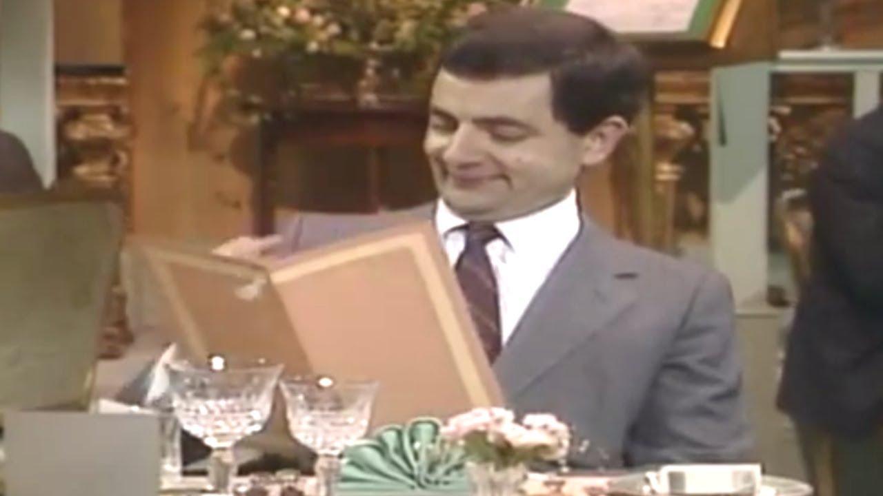 Restaurant Etiquette | Mr. Bean Official Cartoon