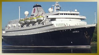 MV ASTORIA // A Ship full of History // Passage Nord-Ostsee-Kanal