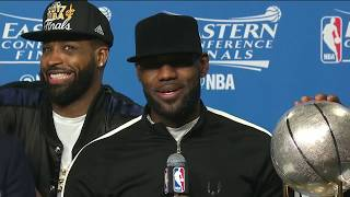 LeBron James Postgame News Conference | Cavs vs Celtics ECF Game 5 | May 25, 2017