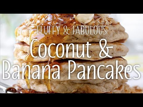 Coconut & Banana Pancakes