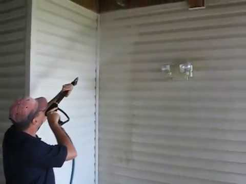 Vinyl Siding Cleaning With Low Pressure And Correct Soaps
