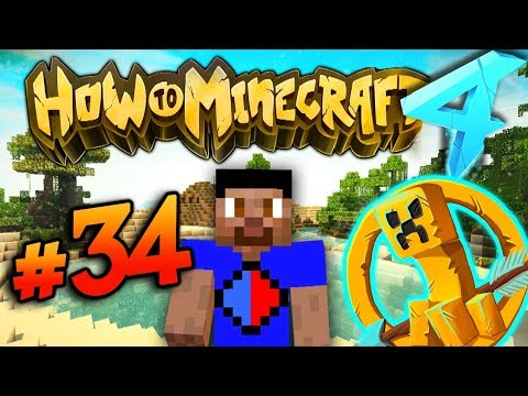 $100K HUNGER GAMES! - HOW TO MINECRAFT S4 #34