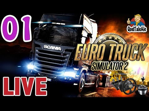 Euro Truck Simulator 2 - Gameplay ITA - T300 + TH8A - LIVE#01 - Dalla Calabria alla Svezia