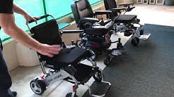 Medicare Wheelchair Compared to Lightweight Folding Wheelchair