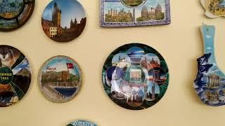 Сувениры. Декоративные тарелки  городов и стран. Не Могу.