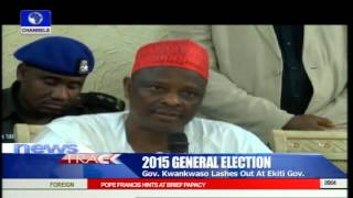 Gov Kwankwaso Lashes Out At Ekiti Govover, Fayose