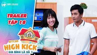 Gia đình là số 1 sitcom   trailer tập 18: Diệu Nhi Quang Tuấn liên tục gặp rắc rối với thầy hiệu phó