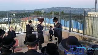 Boyaner Rebbe In Meron At The Chalaka Of An Einikel - Teves 5781