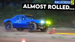 homepage tile video photo for AWD Miata Almost ROLLS During Intense RALLYCROSS Event!
