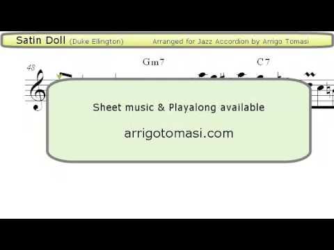 Satin Doll - Jazz Accordion Sheet Music