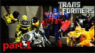 Transformers-Stop Motion-變形金剛-停格動畫-[Revenge of the decepticons]part.1