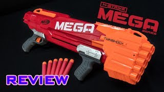 [REVIEW] Nerf Mega Twinshock | Unboxing, Review, & Firing Demo Video