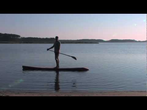 Riviera 404 Danny ching race board review by what sup stand up paddle in ocean city, md