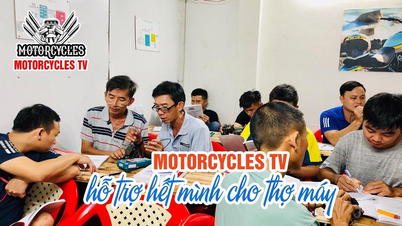 Video 360: Một Buổi Làm Việc Của Motorcycles TV Với Anh Em Thợ Sửa Xe   Motorcycle TV