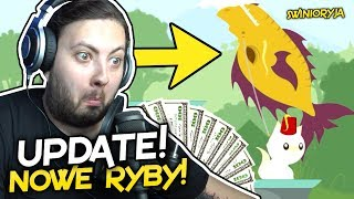 NOWE RYBY! NOWY UPDATE! (Cat Goes Fishing #7) 🐉