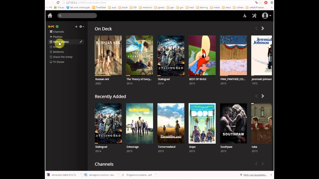 Fix audio track for plex streaming