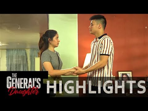 Ivan promises to protect Claire | The General's Daughter