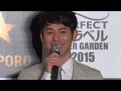 """妻夫木聡が""""大人になった瞬間""""とは…「THE PERFECT 黒ラベル BEER GARDEN 2015 TOKYO」オープニングセレモニー1 #Satoshi Tsumabuki"""