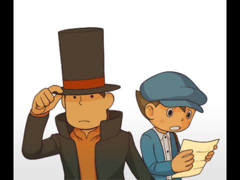 A Puzzling Mystery- Professor Layton and the Curious Village -- Episode 1