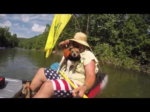 Man Trip 2k16 - Current River, Ozark National Park, Missouri