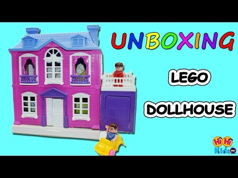 Lego Dollhouse | Unboxing Toys for Kids | Toy Reviews