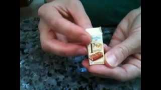 Tutorial incarti e scatole merendine kinder e mulino bianco (Fimo)