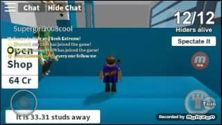 Roblox Hide n Go Seek