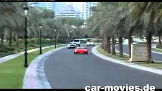 LAMBORGHINI TERROR vs POLICE in Dubai by car-movies.de