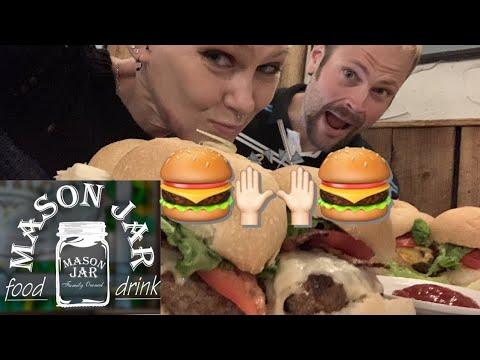 The Mason Jar Burger Challenge|Molly Schuyler|epic|Clean Eating