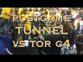 Warriors (1-3) postgame tunnel after Game 4 NBA Finals loss to Toronto Raptors
