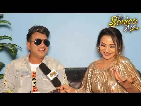 Sonica Rokaya Dare Challenge With Ramji Khand | Nepali Singer | Lok Geet