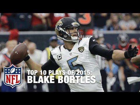 Top 10 Blake Bortles Plays of 2015 | NFL