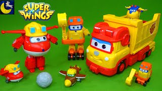 Super Wings Build It Buddies Jett Toys Transforming Dump Truck Command Center Scoops Donnie Video