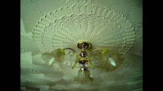 3d Comb Texture Ceiling Medallions Victorian Floral Effect-VIDEO TUTORIAL