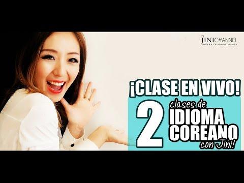 Idioma Coreano | Clase en Vivo 2: ¡Introducción al hangul! - JiniChannel