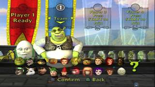 Shrek SuperSlam All Characters [PS2]