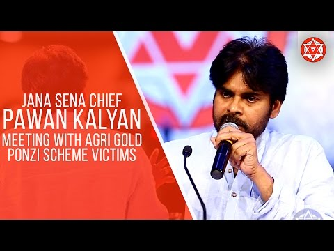 JanaSena Chief Pawan Kalyan Meeting With Agri Gold Victims |