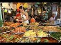 EXTREME BBQ MEAT TOUR in Chiang Mai, Northern Thailand -Thai Sausage and Laap! - street food #034