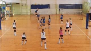 1/4 фіналу ДЮСШ Юність - ДВК Вікторія Канів 3-1 Дитячої ліги по волейболу серед дівчат 2004 р. н.