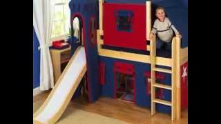 Space Saver Bunk Beds For Kids