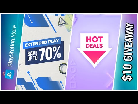 2 NEW HUGE PSN SALES   PlayStation Store Deals Live Today – Extended Play & Hot PSN Deals Sale