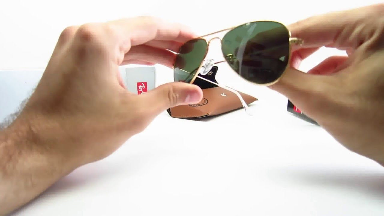 1b91953cc8166 Unboxing Ray-Ban RB 3044 Small Aviator L0207 Sunglasses - YouTube