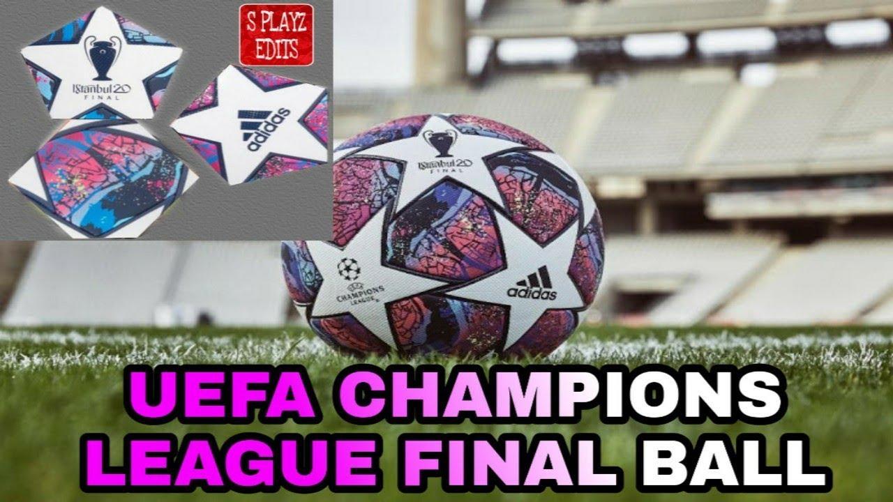 fts 20 uefa champions league final ball youtube fts 20 uefa champions league final ball