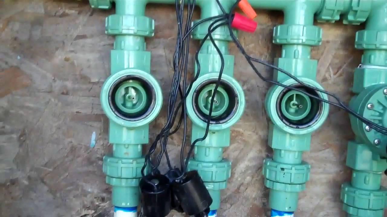 ORBIT Landscape Control valve repair - YouTube